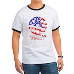 American Atheist Ringer Tee Shirt