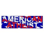American Atheist Bumper Sticker