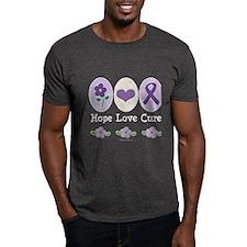 Purple Ribbon Alzheimer's T-Shirt