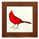 Cardinal Framed Tile