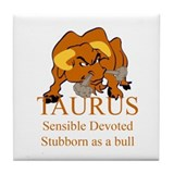 Taurus Tile Coaster