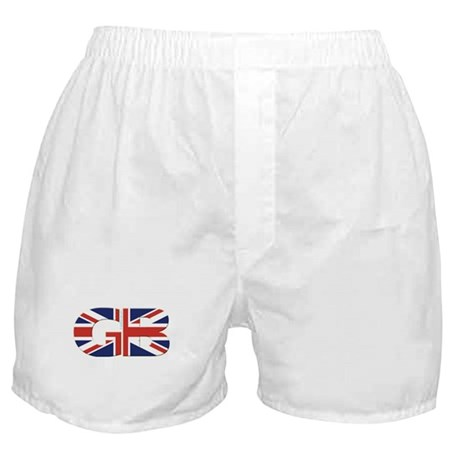 Great Britain (UK GB & NI) Boxer Shorts