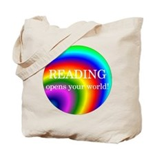 Reading World Tote Bag