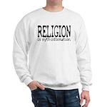 Religion Myth-Info Heavy Sweatshirt