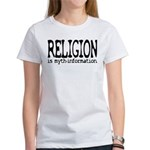 Religion Myth-Info Women's T-Shirt