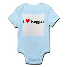I Love Reggae Infant Creeper