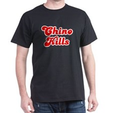 Retro Chino Hills (Red) T-Shirt