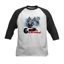 Motorcycle Racing 6th Birthday Tee
