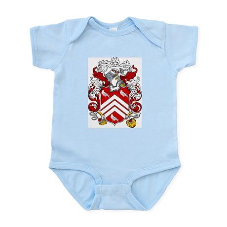 Singleton Family Crest Infant Creeper