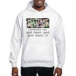 Militant Atheist Hooded Sweatshirt