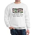 Militant Atheist Heavy Sweatshirt