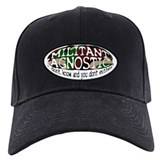 Militant Agnostic Baseball Cap Hat