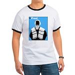 iFraud Jewish Rabbi Ringer Tee Shirt