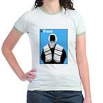 iFraud Jewish Rabbi Jr Ringer T-Shirt