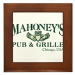 Mahoney's Framed Tile