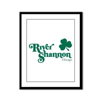 The River Shannon Framed Panel Print
