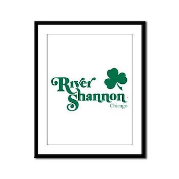 The River Shannon Framed Panel Print