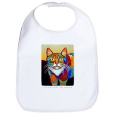 Cat-of-Many-Colors Bib