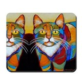 Cat-of-Many-Colors Mousepad