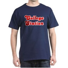 Retro College Stat.. (Red) T-Shirt