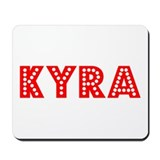 Retro Kyra (Red) Mousepad