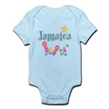 Jamaica Flip Flops - Infant Bodysuit