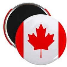"Canadian Flag 2.25"" Magnet (100 pack)"