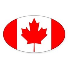 Canadian Flag Bumper Stickers