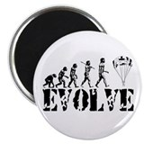 "Skydiving Evolution 2.25"" Magnet (10 pack)"