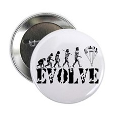 "Skydiving Evolution 2.25"" Button"