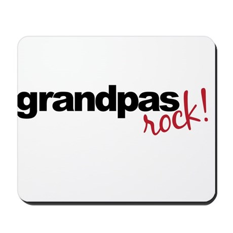 grandpa t shirts rock Mousepad
