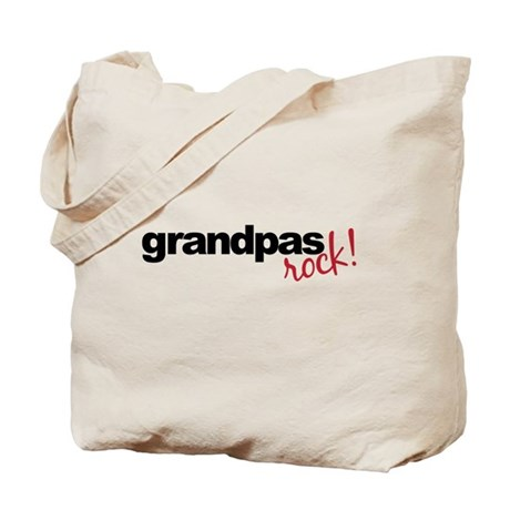 grandpa t shirts rock Tote Bag