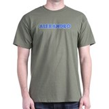 Retro Alexandro (Blue) T-Shirt