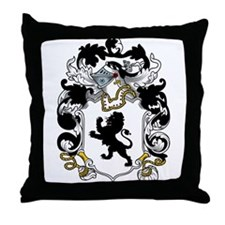 Stapleton Family Crest Throw Pillow