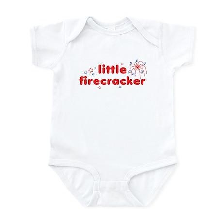 little firecracker Infant Bodysuit