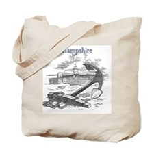 New Hampshire Anchor Tote Bag