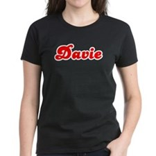 Retro Davie (Red) Tee