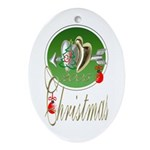 I Love Christmas Keepsake (Oval)