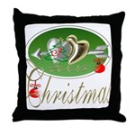I Love Christmas Throw Pillow
