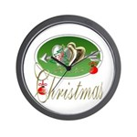 I Love Christmas Wall Clock