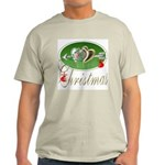 I Love Christmas Ash Grey T-Shirt