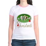 I Love Christmas Jr. Ringer T-Shirt