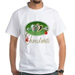 I Love Christmas White T-Shirt