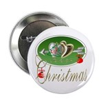 I Love Christmas Button