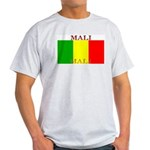 Mali Malian Flag Ash Grey T-Shirt
