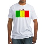 Mali Malian Flag Fitted T-Shirt