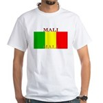Mali Malian Flag White T-Shirt