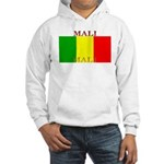 Mali Malian Flag Hooded Sweatshirt