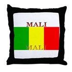 Mali Malian Flag Throw Pillow