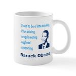 Obama supporter stereotypes Mug